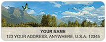 Beautiful America Address Labels