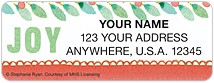 Winter Flourish Address Labels