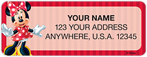 Minnie Mouse Address Labels