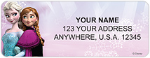 Frozen Address Labels