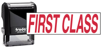 Stock Stamp - First Class