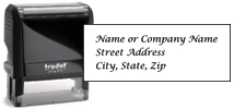 Elegant Address Stamp