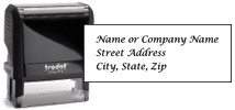 Elegant Address Stamp Thumbnail